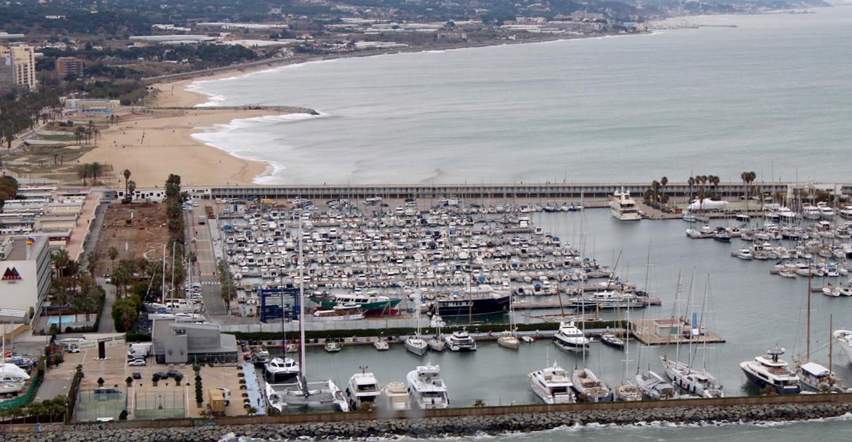 Obres Port Mataró Febrer 2021