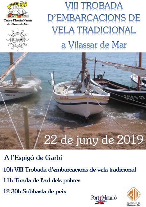 Cartell Trobada dembarcacions tradicional 2019