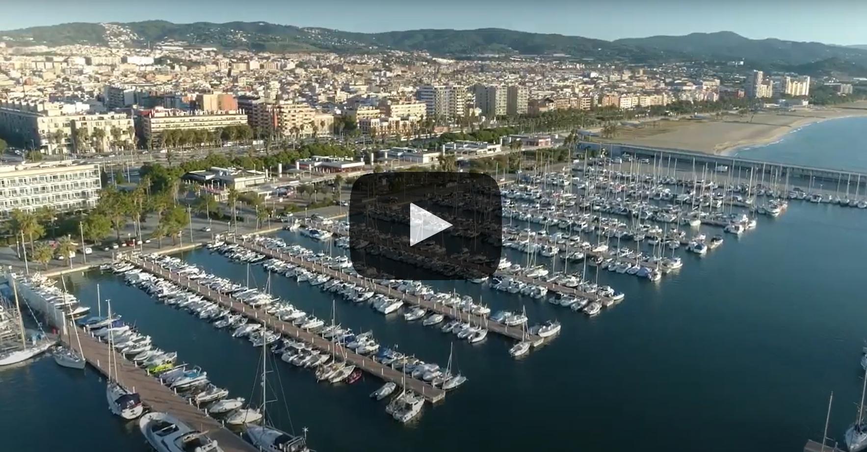 Vídeo de la remodelació del port de Mataró