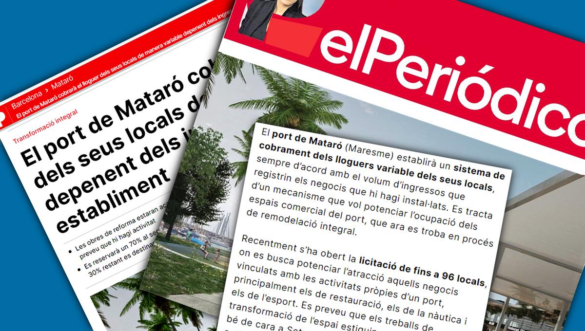 Port Mataró cobrament locals comercials