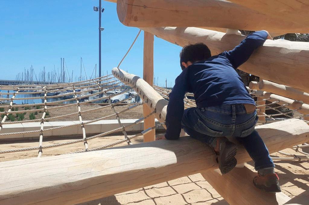 Espai lúdic nens Port Mataró