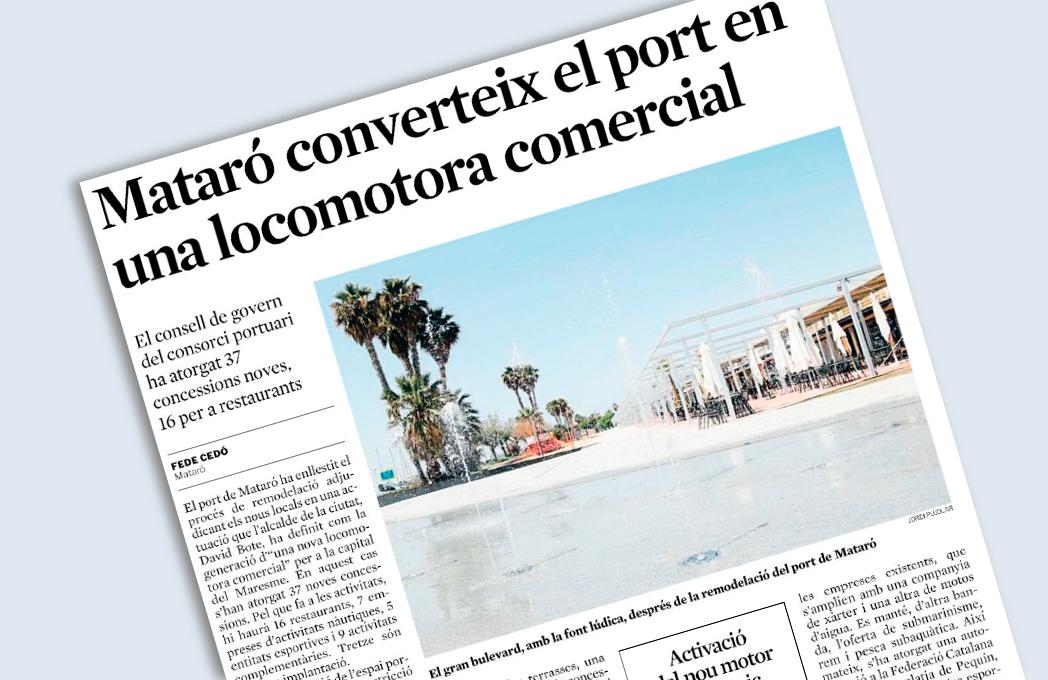 Port de Mataró Font i Locals