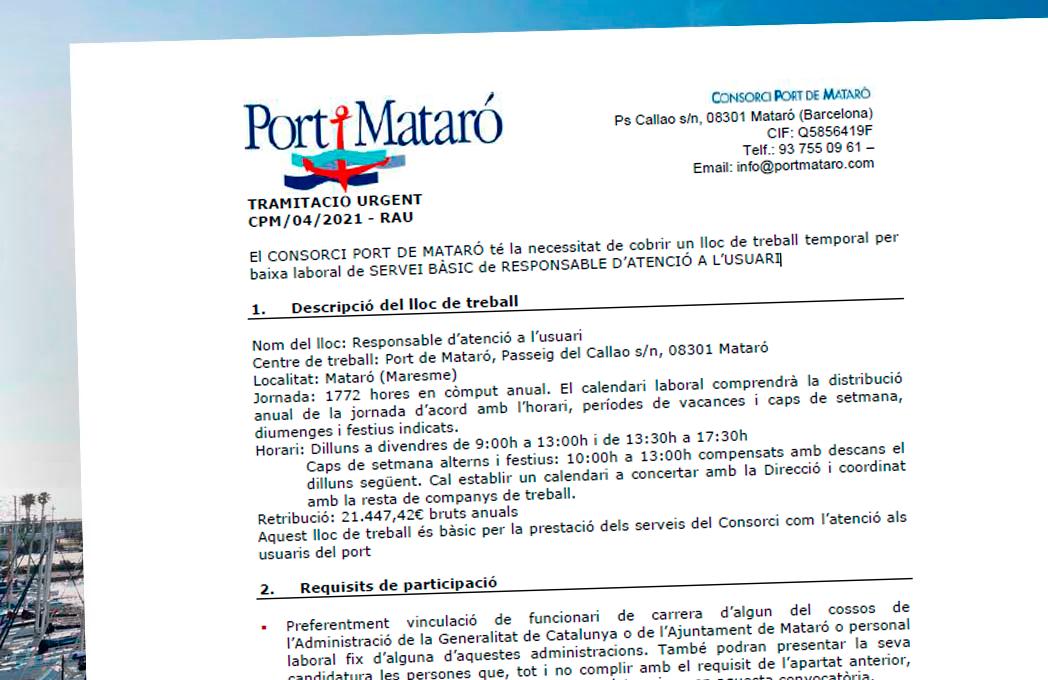 Lloc de Treball Port de Mataró
